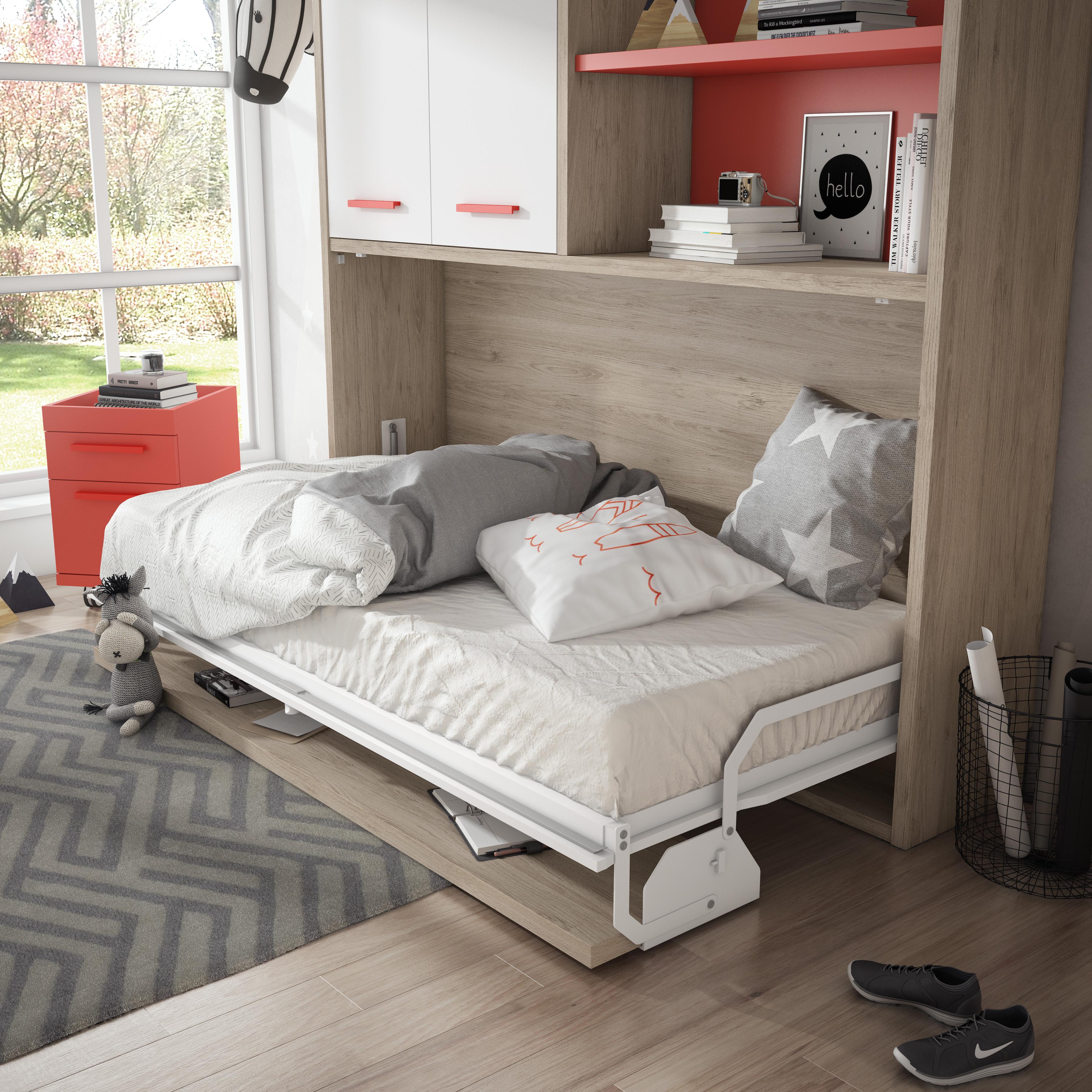 Nueva cama abatible con mesa